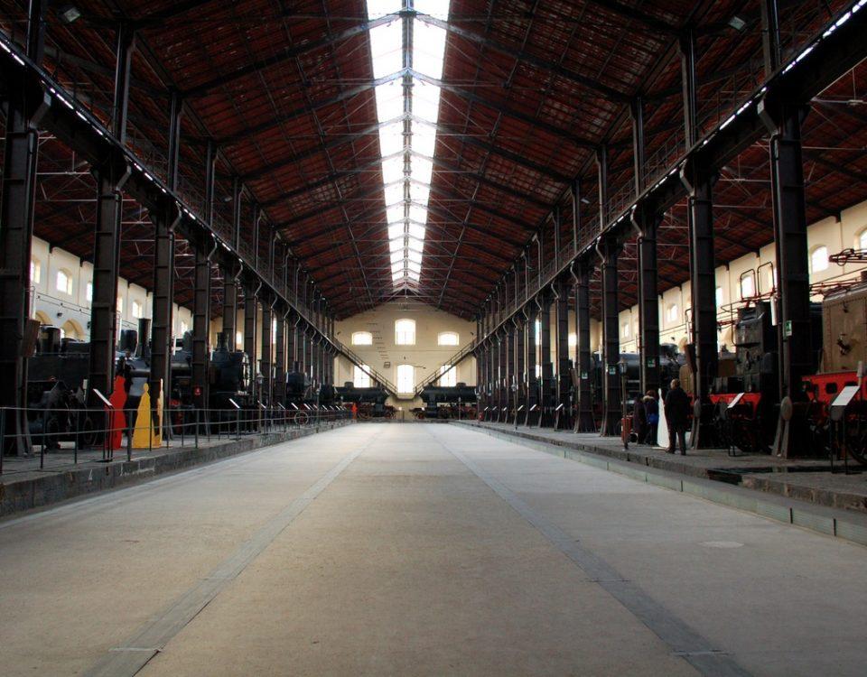 Il Museo Nazionale Ferroviario di Pietrarsa (Portici-Napoli)