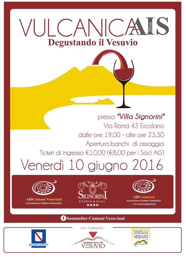 """Evento """"Vulcanica Ais: Degustando il Vesuvio""""!!!"""