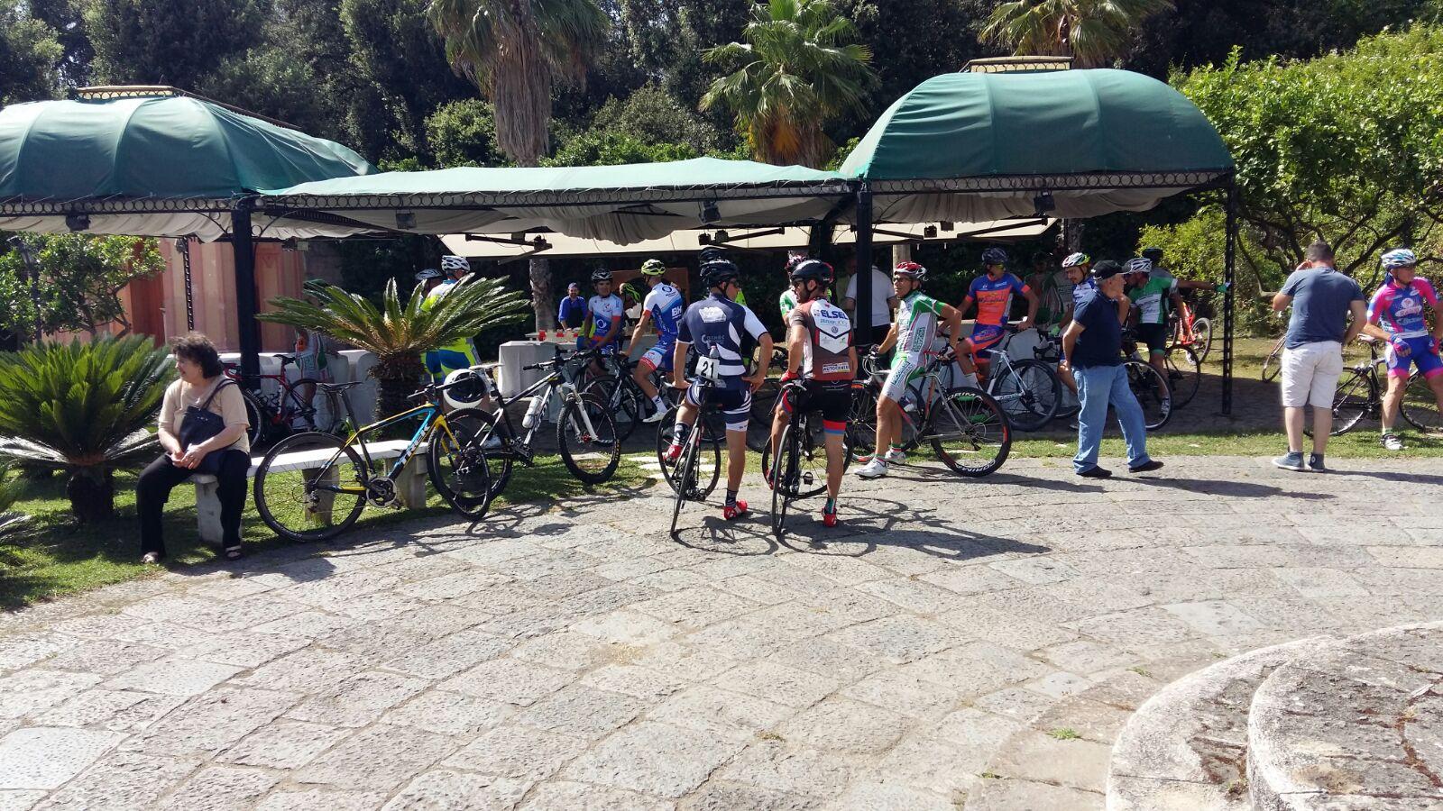 V-Trofeo-Cicilstico-Cronoscalata-Al-Vesuvio-Foto Iniziale