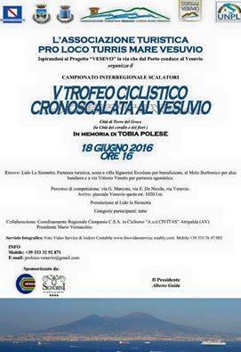 V Trofeo Ciclistico Cronoscalata al Vesuvio!!!