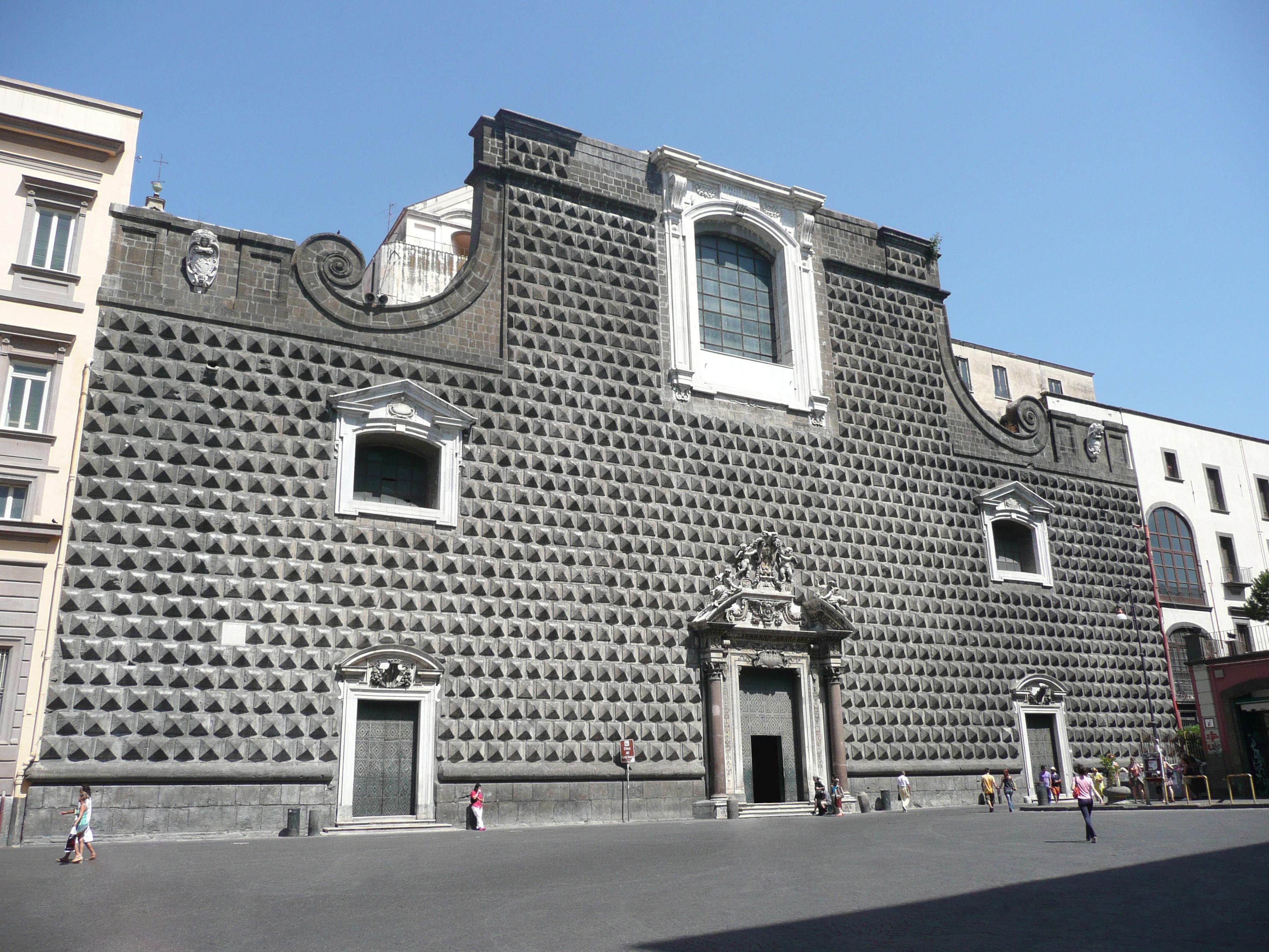 La Chiesa del Gesù Nuovo di Napoli