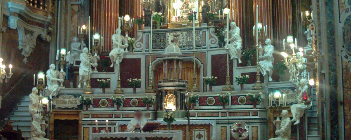 La Basilivca del Gesù Vecchio di Napoli