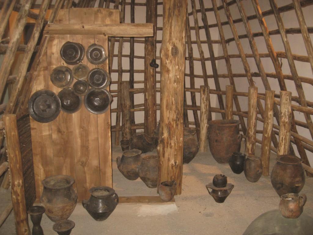 Alcuni reperti presenti all'interno del Museo Archeologico dell'Antica Nola