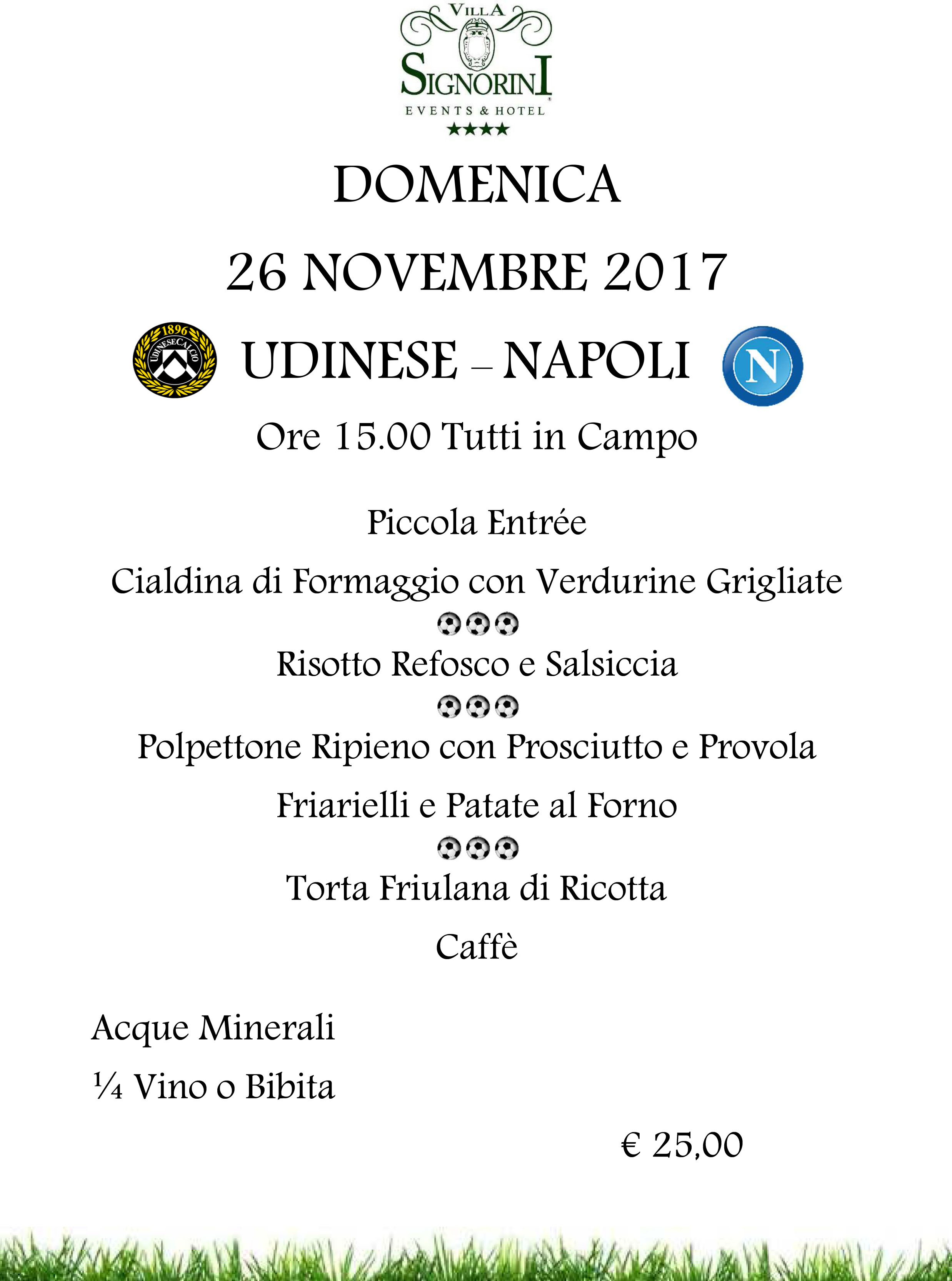 11.26.2017 UDINESE-NAPOLI