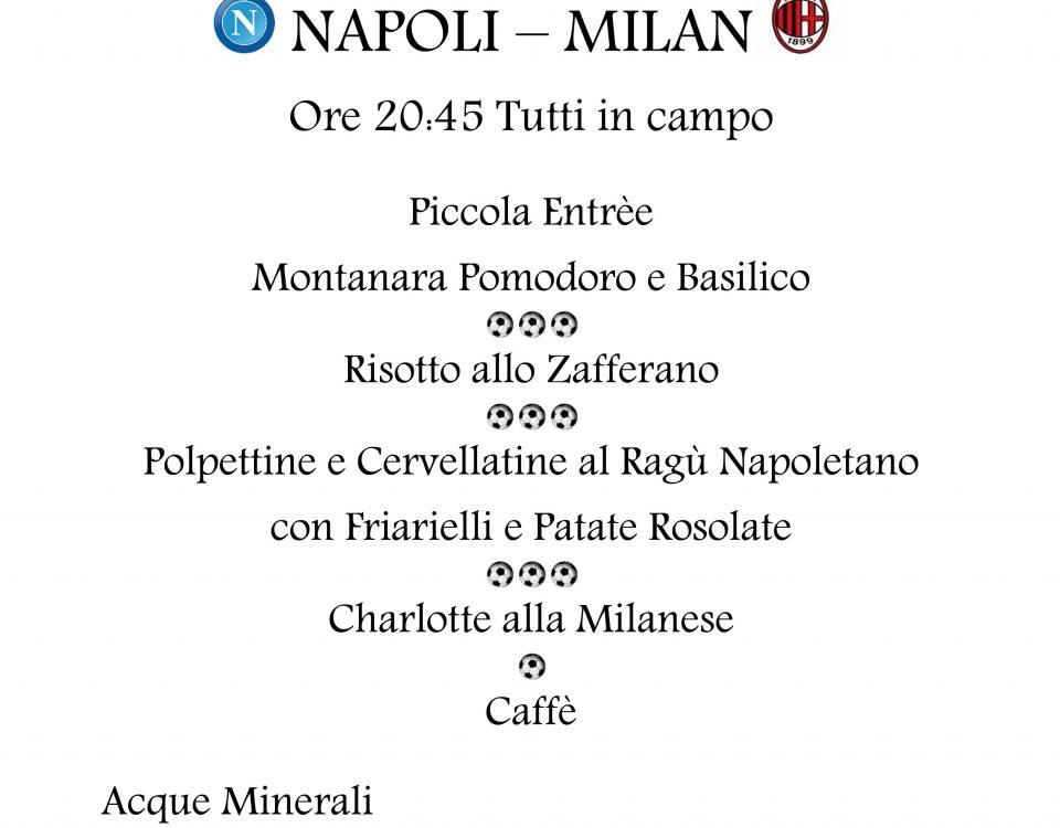 11.18.2017 NAPOLI - MILAN
