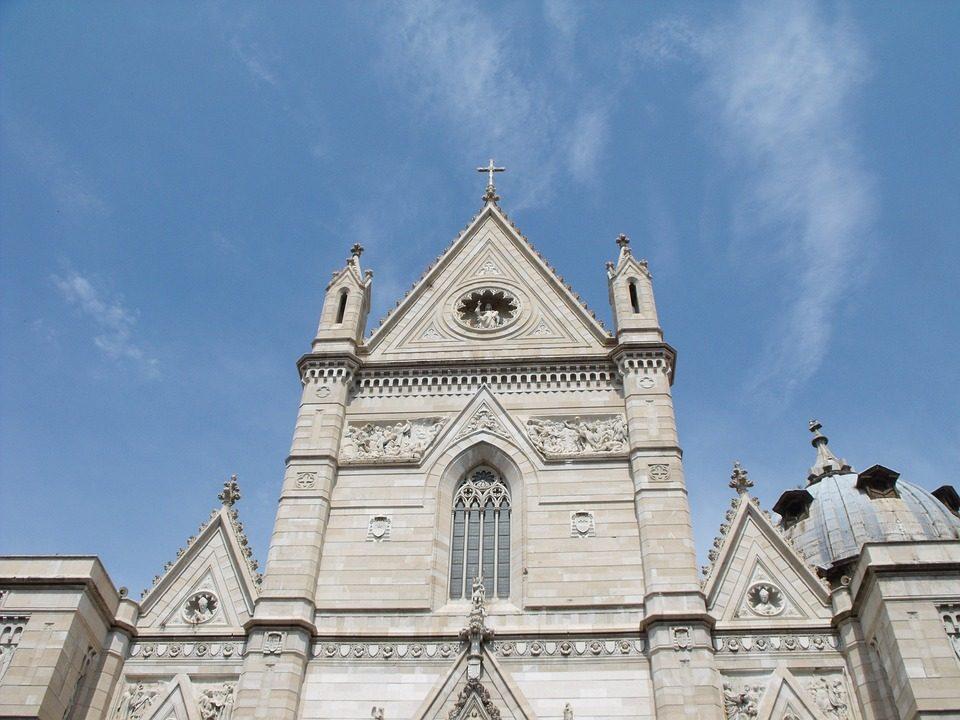 L'imponente Duomo di Napoli