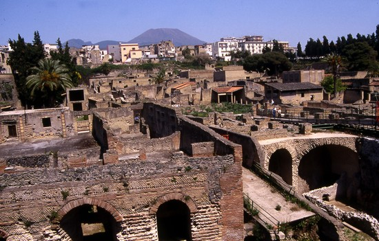The Famous Archaeological Site of Herculaneum