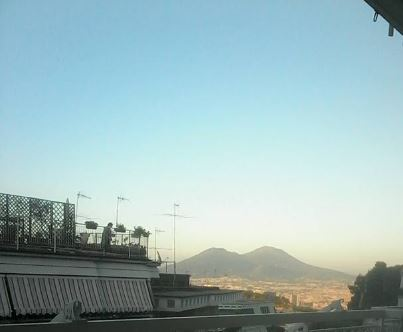 foto di Alessia De Gregorio informatrice turistica per la pro loco di Capodimonte