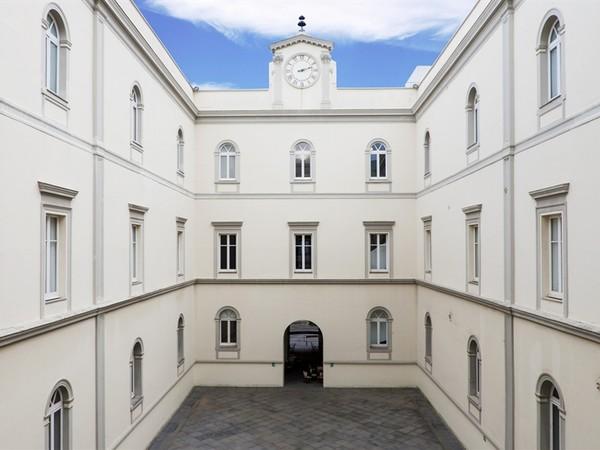 Lo splendido Palazzo Donnaregina che ospita il Museo MADRE di Napoli